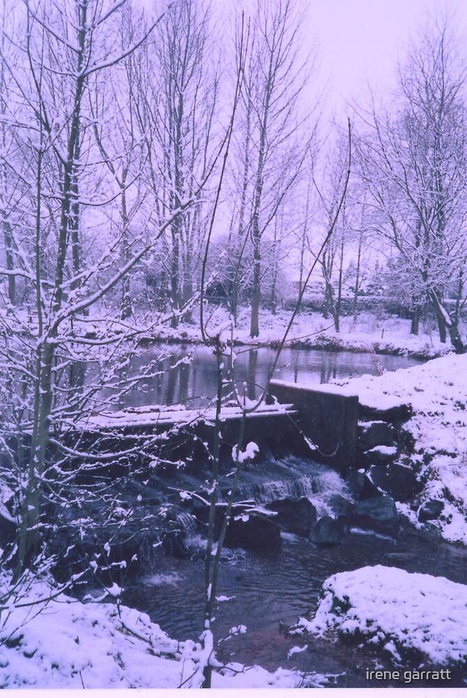 An icy scene by irene garratt