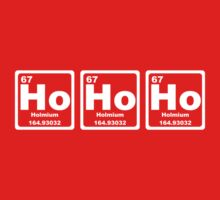 Ho Ho Ho - Christmas - Santa Claus - Periodic Table T-Shirt