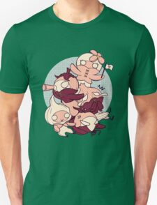 [FFXIV] Mandragora and Friends (Red) T-Shirt