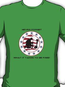 Fallen Soldier  Never Forget T-Shirt