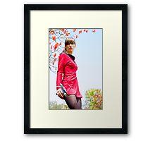 Trek X Framed Print