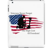 Cost of Freedom iPad Case/Skin