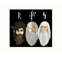 The Hobbit - The Wizards Art Print