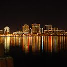 Norfolk, VA - Waterside  by Andy Mueller