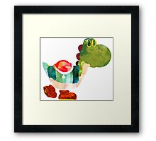The Very Hungry Dinosaur (No Text) Framed Print