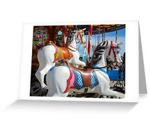 Empty horses Greeting Card