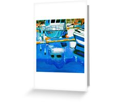 Reflections Geometry Greeting Card