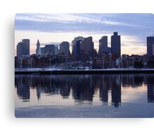 Boston MA Canvas Print