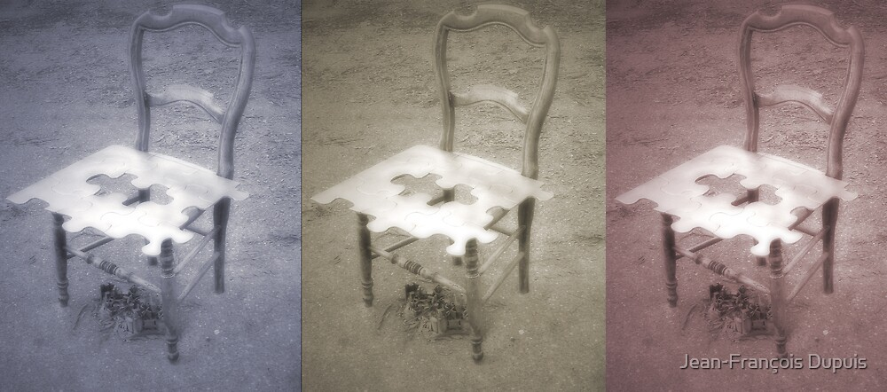 Chairs by Jean-François Dupuis