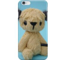 Mini Sooty Handmade bears from Teddy Bear Orphans iPhone Case/Skin