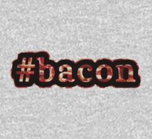 Bacon - Hashtag - Photograph Kids Clothes