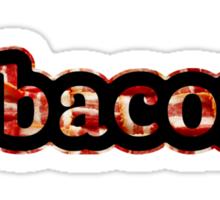 Bacon - Hashtag - Photograph Sticker