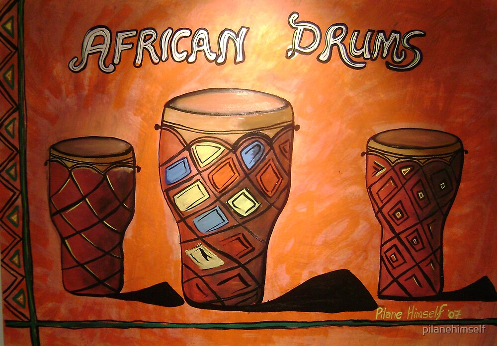 African drums by pilanehimself