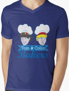 Tom & Colin Bakers Mens V-Neck T-Shirt