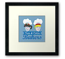 Tom & Colin Bakers Framed Print