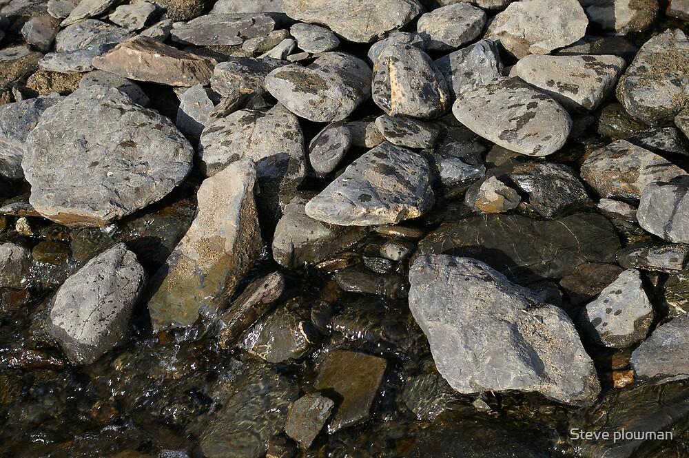 Stones by Steve plowman