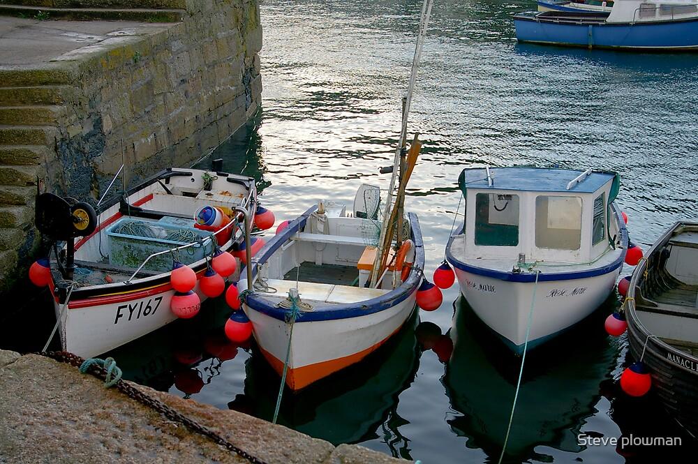 Boats by Steve plowman