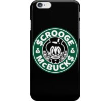 Scrooge McBucks iPhone Case/Skin