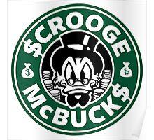 Scrooge McBucks Poster