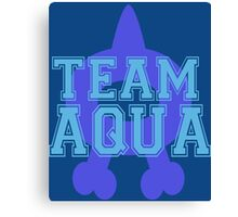 Pokemon - Team Aqua Canvas Print