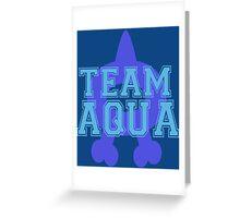 Pokemon - Team Aqua Greeting Card