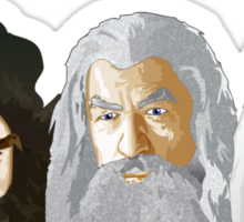The Hobbit - The Wizards Sticker