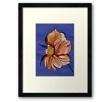 A Flower For Toni Framed Print