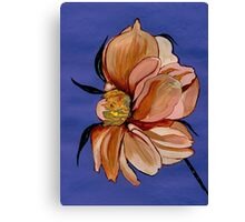 A Flower For Toni Canvas Print