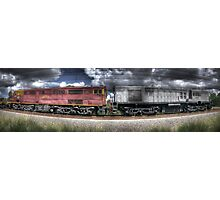 Diesel Electric Locomotives 4473 and 4501 Photographic Print