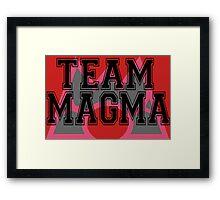 Pokemon - Team Magma Framed Print