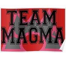 Pokemon - Team Magma Poster