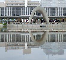 Hiroshima Memorial by Francis Saunders