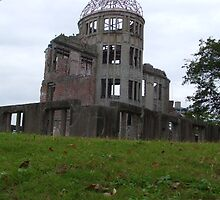 Hiroshima Dome Building by Francis Saunders