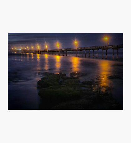 Sea Lights Photographic Print