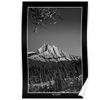 Alberta Rockies III - Mt. Ishbel Poster