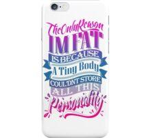 Personality Powerhouse iPhone Case/Skin