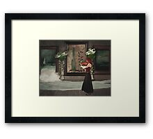 No Mystery Framed Print
