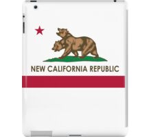 New California Republic Flag iPad Case/Skin
