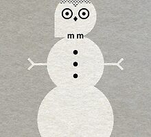 Snowy Owl by Scott Partridge