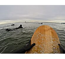 Surfer's Point of View Photographic Print