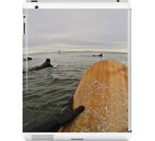 Surfer's Point of View iPad Case/Skin