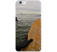 Surfer's Point of View iPhone Case/Skin