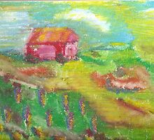 essence of a red barn by candace lauer