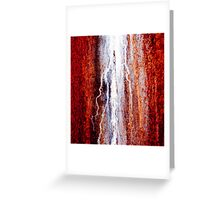 Rusty Wall Greeting Card