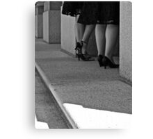 High Heels in Waiting Canvas Print