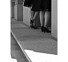 High Heels in Waiting Photographic Print