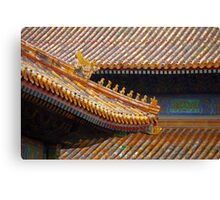 Forbidden Rooftops Canvas Print