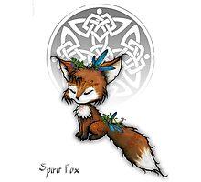 Celtic Spirit Fox Photographic Print