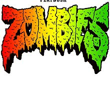 FLATBUSH ZOMBIES RASTA COLOR by herlin