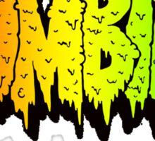 FLATBUSH ZOMBIES RASTA COLOR Sticker